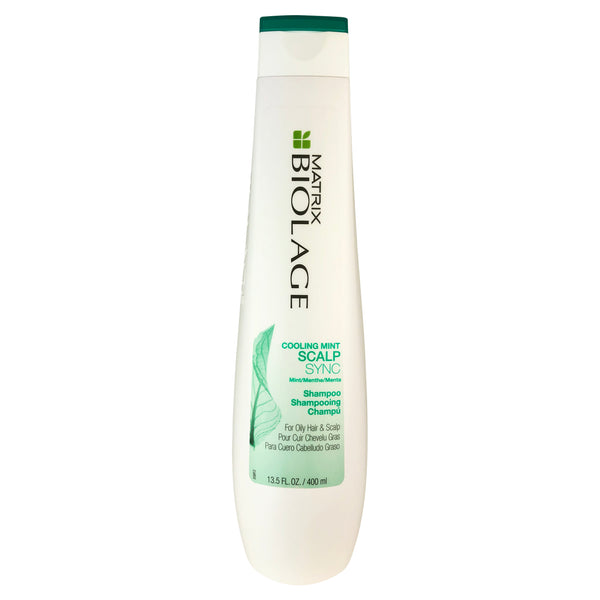 Matrix Biolage Cooling Mint Scalp Shampoo For Oily Hair And Scalp 13.5 oz