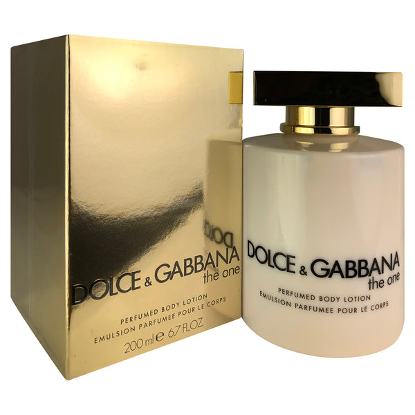 D&G The One by Dolce & Gabbana Perfumed Body Lotion 6.7 oz
