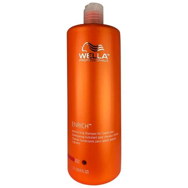 Wella Brilliance Moisturizing Shampoo for Coarse Colored Hair 33.8 oz