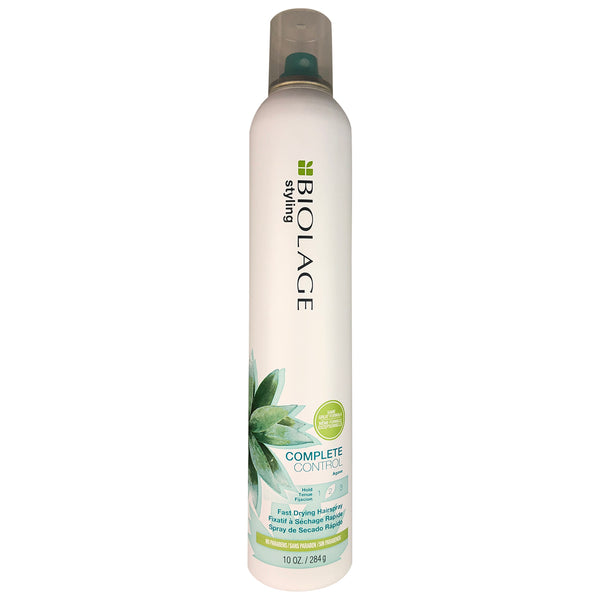 Matrix Biolage Complete Control Hold 2 Fast Drying Hair Spray With Agave 10 oz No Parabens