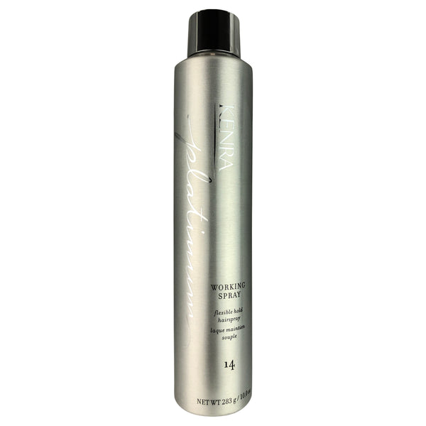 KENRA Platinum Working Spray Flexible Hold Hairspray # 14 10 oz