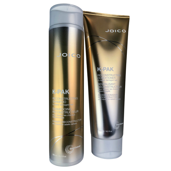 JOICO K-PAK Damage Repair Shamp & Cond DUO 10.1 oz & 8.5 oz