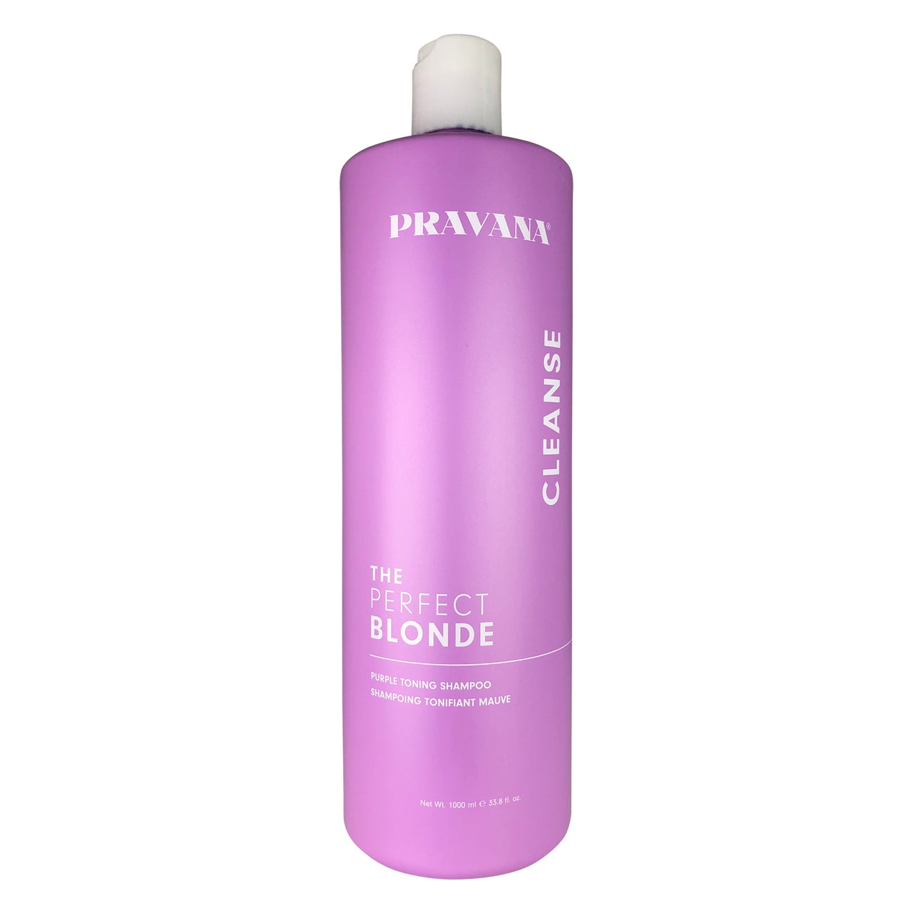 Pravana The Perfect Blonde Purple Toning Hair Shampoo 33.8 oz 100% Vegan Gluten Free