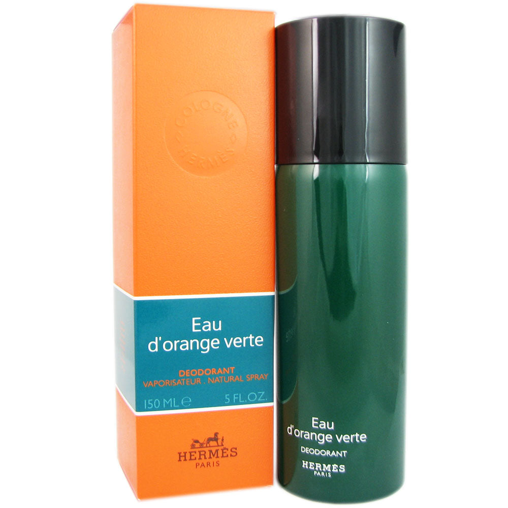 Eau D'Orange Verte for Men by Hermes 5 oz Deodorant Spray