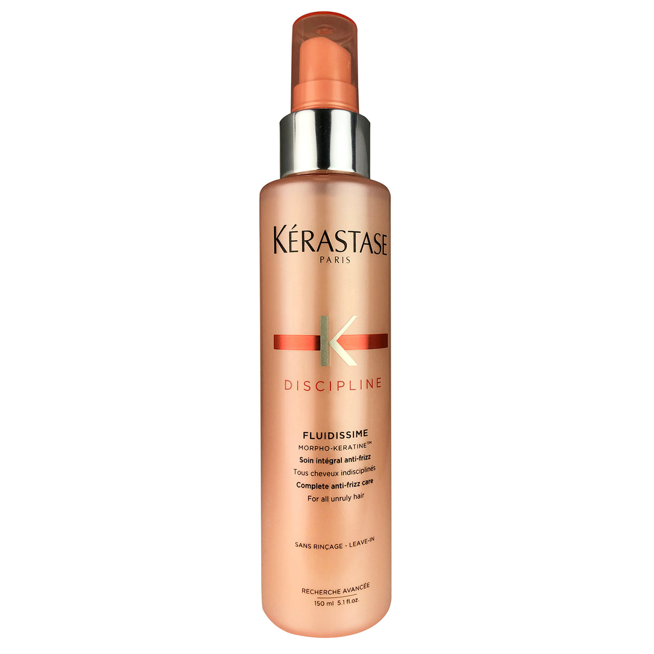 Kerastase Discipline Complete Anti-Frizz Leave-in Spray Care For All Unruly Hair 5.1 oz