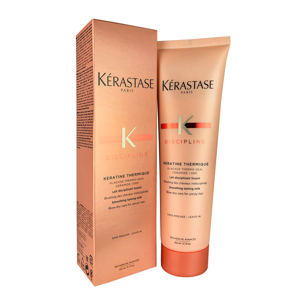 Kerastase Discipline Blow-Dry Hair Smoothing Taming Milk for Unruly Hair 5.1. oz
