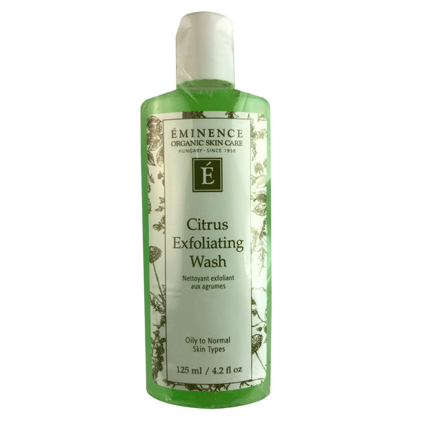 Eminence Citrus Exfoliating Face Wash 4.2 oz