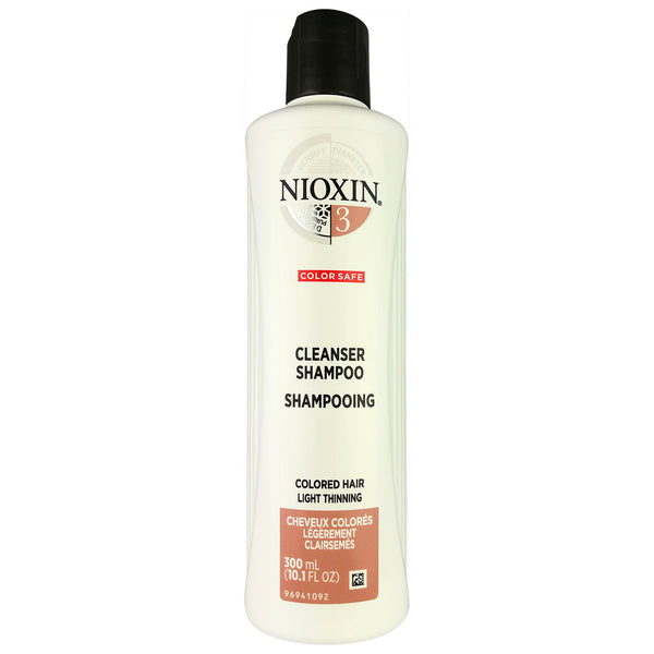 Nioxin Cleanser Shampoo System #3 for Colored Light Thinning Hair 10.1 oz
