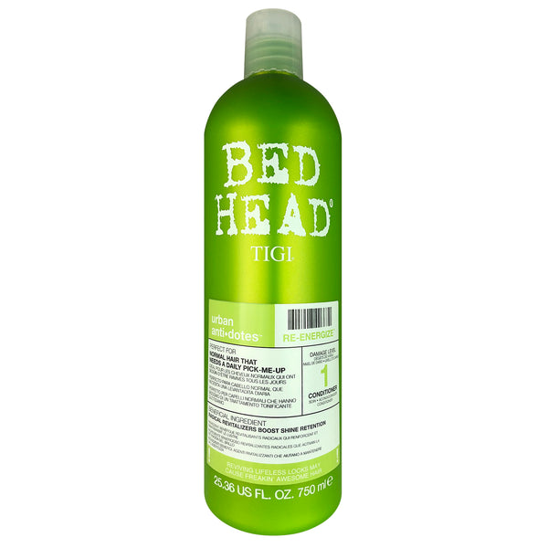 TIGI Bed Head Urban Anti+Dotes Re-Energize Conditioner Level 1 for Normal Hair That needs a Daily Pick Me-Up 25.36 oz.