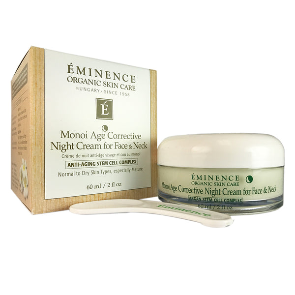 Eminence Monoi Age Corrective Night Face and Neck Cream 2 oz