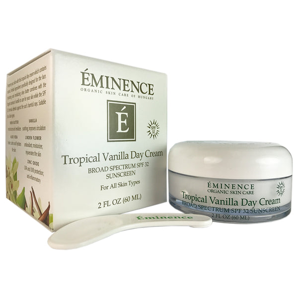 Eminence Tropical Vanilla Day Face Cream SPF 32 2 oz