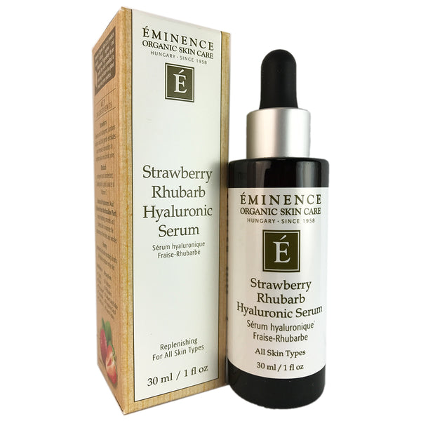 Eminence Strawberry Rhubarb Hyaluronic Face Serum 1 oz