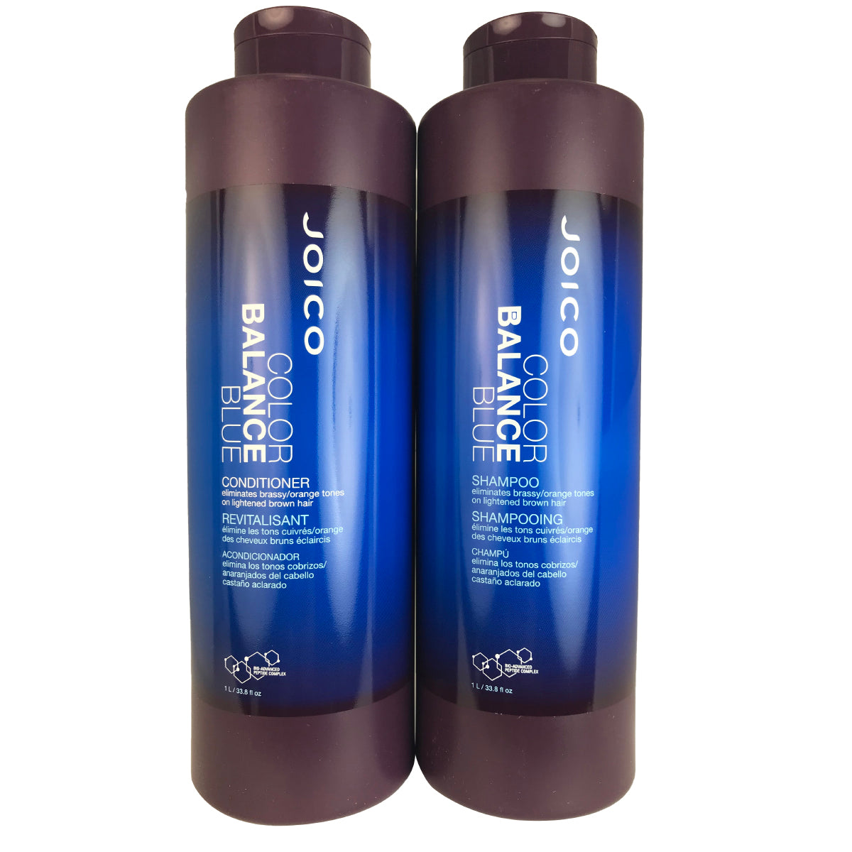 Joico Color Balance Blue Hair Shampoo and Conditioner Duo 33.8 oz Each