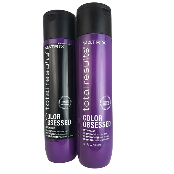 Matrix Color Obsessed Hair Shampoo and Conditioner Duo 10.1 oz Each