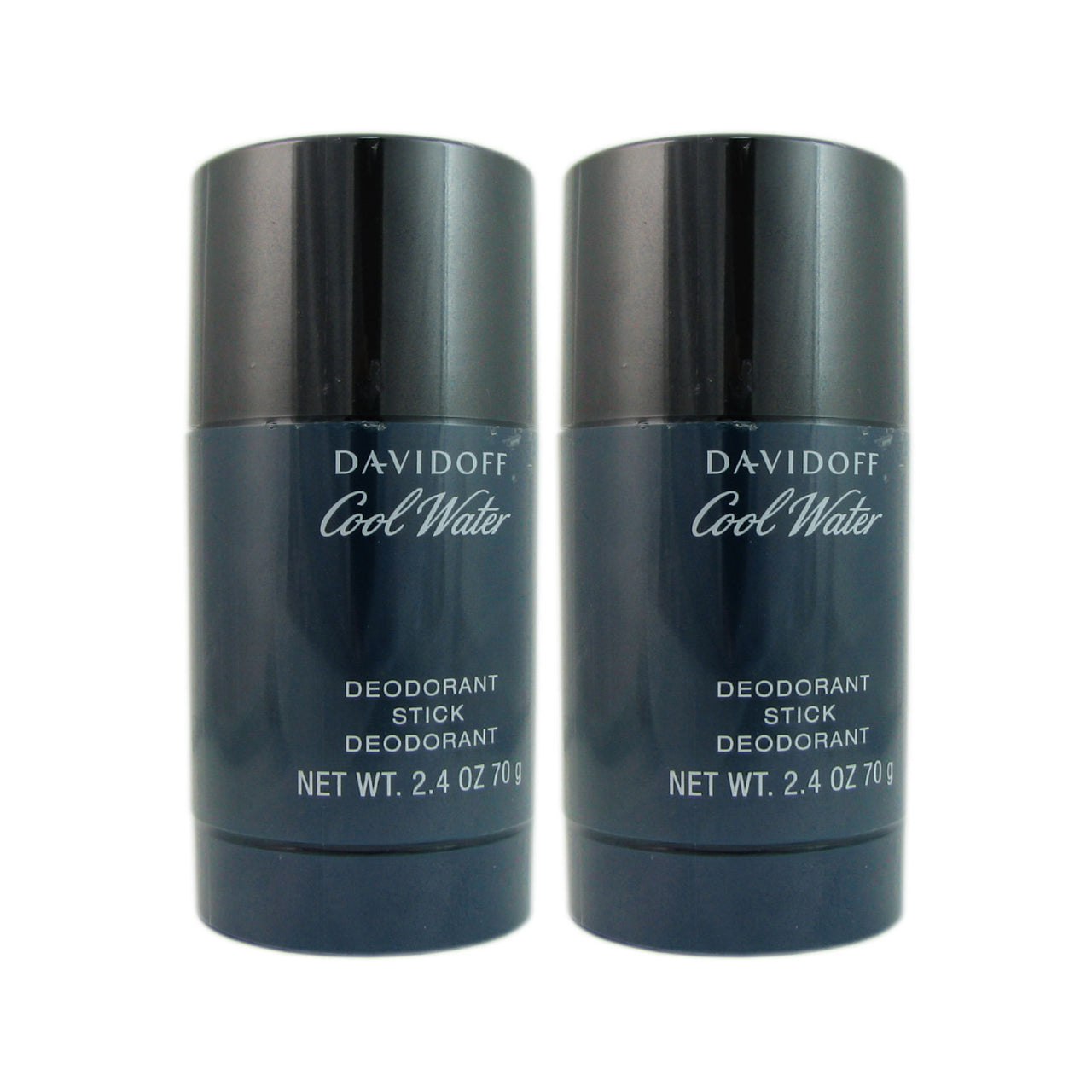 Davidoff Cool Water 2.4 oz Deodorant Stick 2 Pack