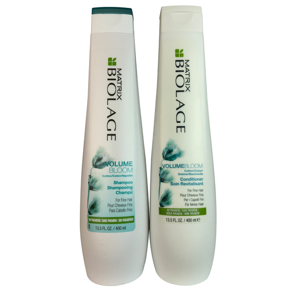 Matrix Biolage Volumebloom Shampoo & Conditioner Set for all Hair  13.5 oz Each