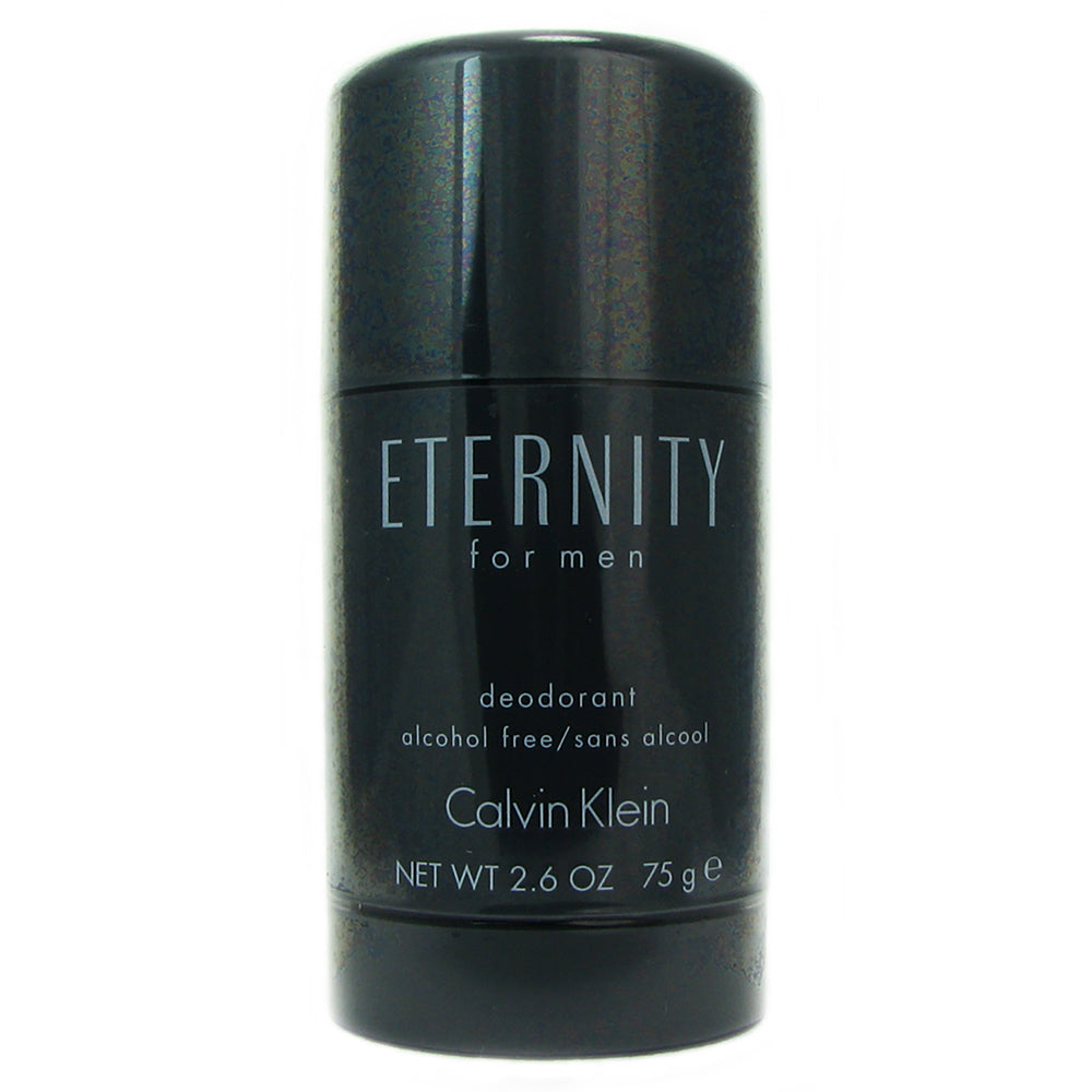CK Eternity for Men by Calvin Klein 2.6 oz Alc. Free Deodorant Stick