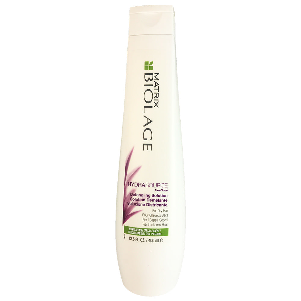Matrix Biolage Hydrasource Detangling Hair Solution 13.5 oz