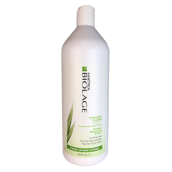 Matrix Biolage Normalizing Clean Reset Shampoo for All Hair Types 33.8 oz Paraben Free