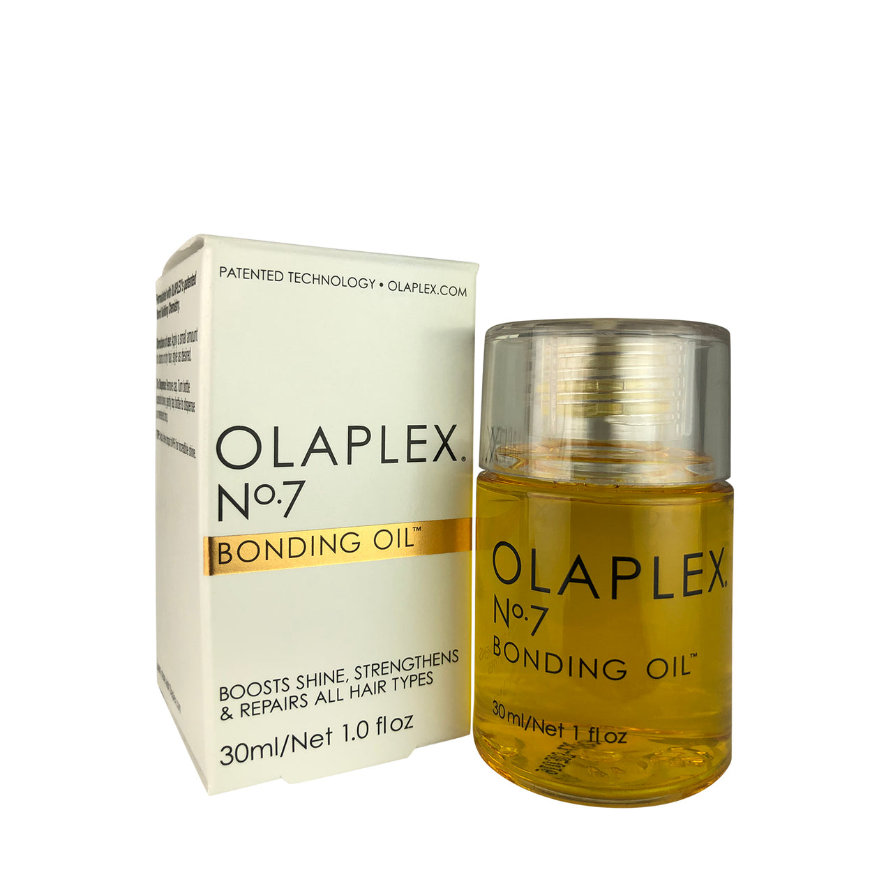 _OLAPLEX No. 7 Bonding Oil 1 oz Boosts Shines Strengthens & Repairs All Hair Types Vegan & Alcohol Free