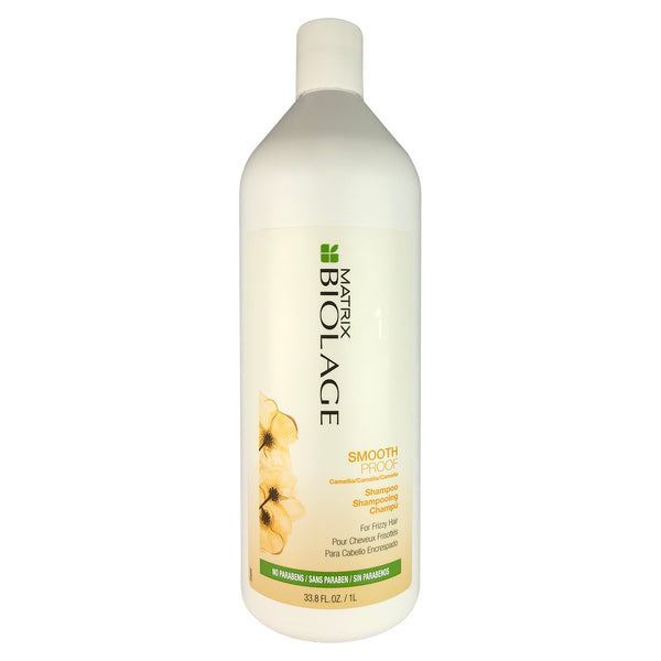 Matrix Biolage Smooth Proof Camellia Shampoo For Frizzy Hair 33.8 oz Liter NO Parabens