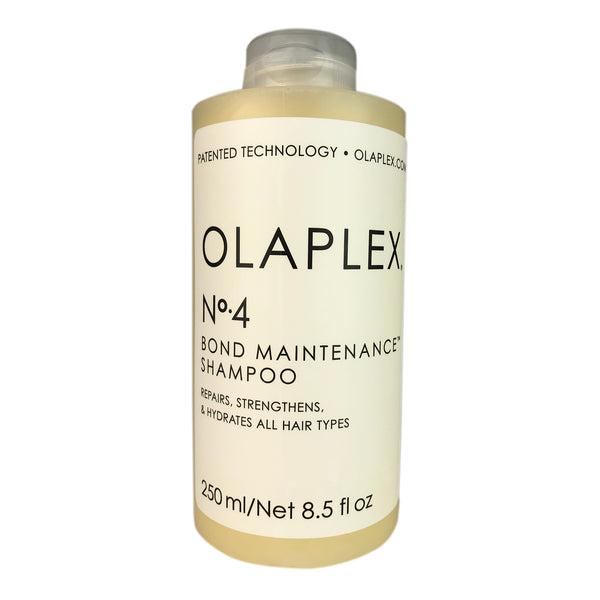 Olaplex No. 4 Bond Maintenance Shampoo 8.5 oz. Made without sulfates, parabens or gluten . Vegan. Color-safe.