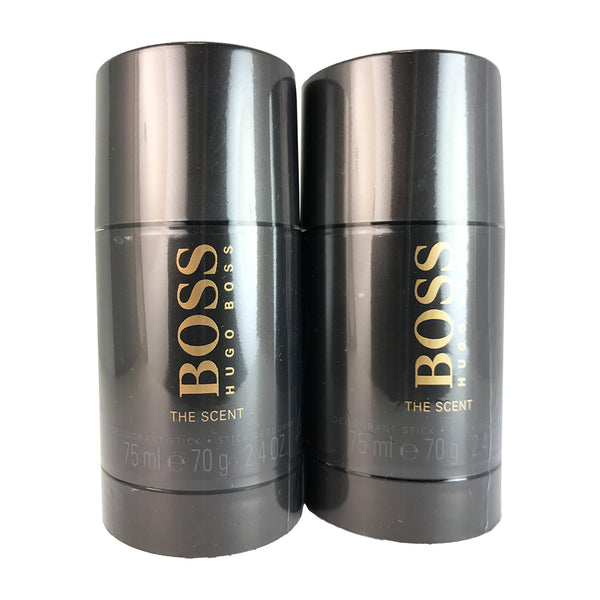 Boss The Scent For Men By Hugo Boss Deodorant Stick 2.4 oz - Two