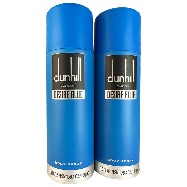 Dunhill Desire Blue Body Spray For Men by Dunhill 6.4 oz - Two