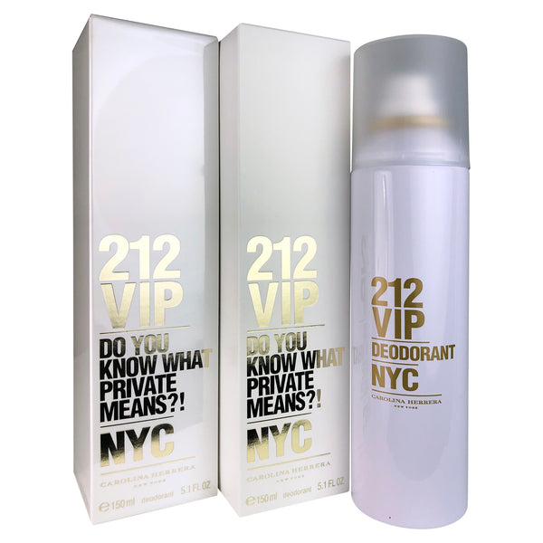 212 VIP Deodorant Spray Women 5.0 oz-TWO