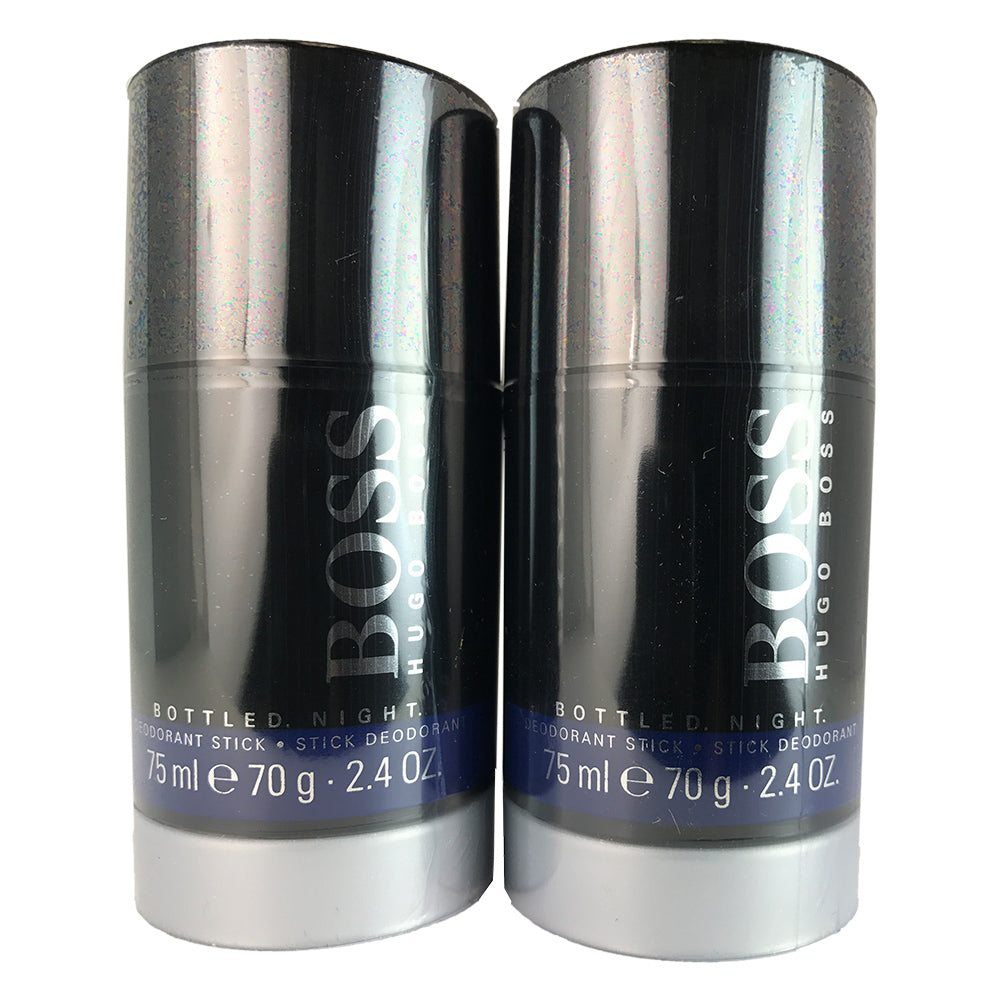 Boss # 6 Night Men for Men By Hugo Boss 2.4 oz Deodorant Stick - Two