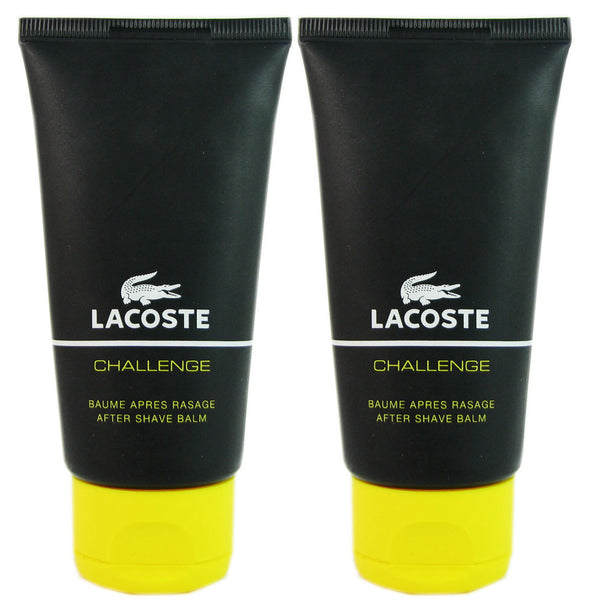 Lacoste Challenge for Men 2.5 oz  After Shave Balm  (Two)