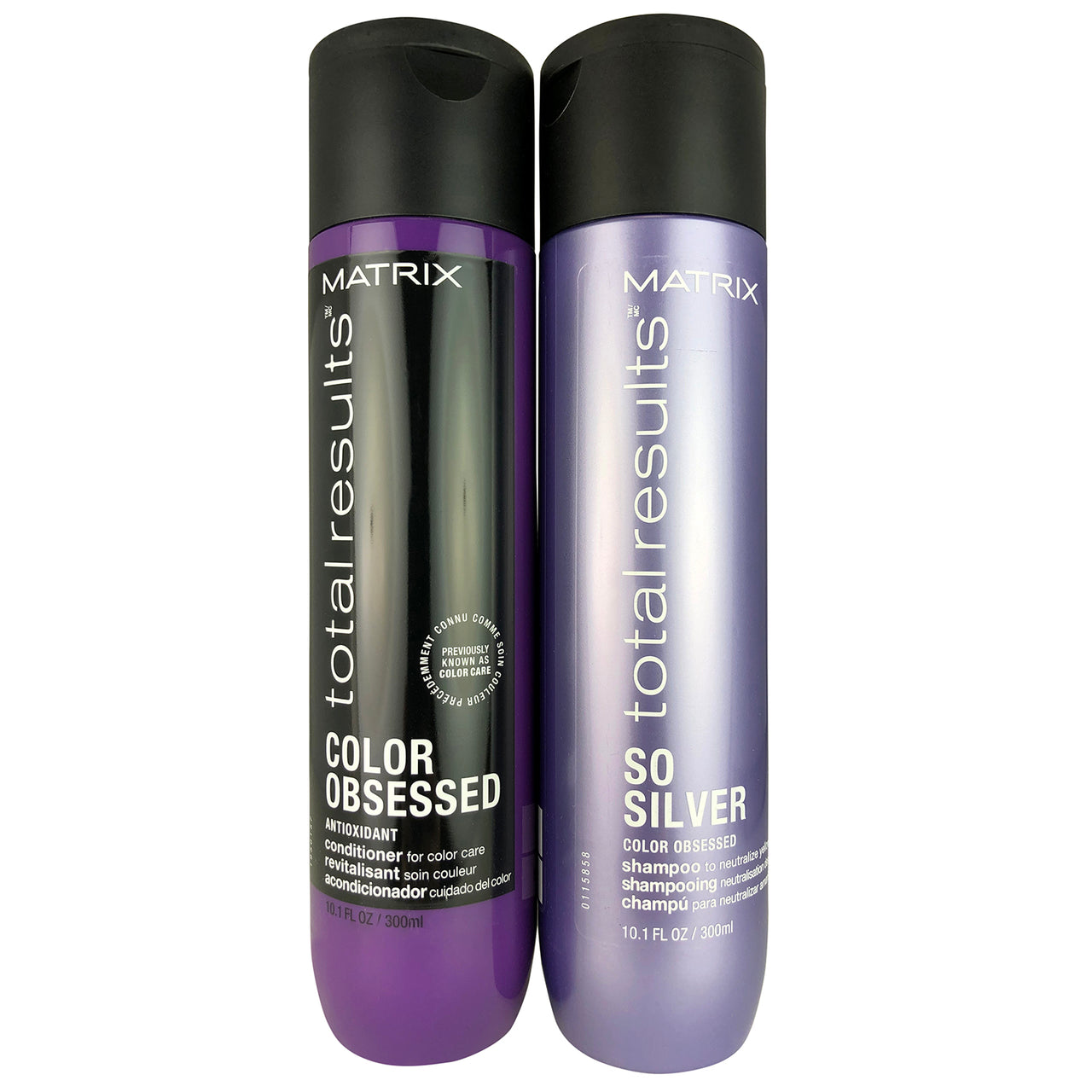 Matrix Total Results So Silver Color Obsessed Hair Shampoo and Conditioner Duo 10.1 oz Each