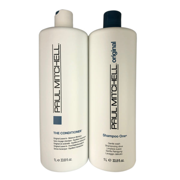 Paul Mitchell Original Hair Shampoo One & The Conditioner Duo 33.8 oz each