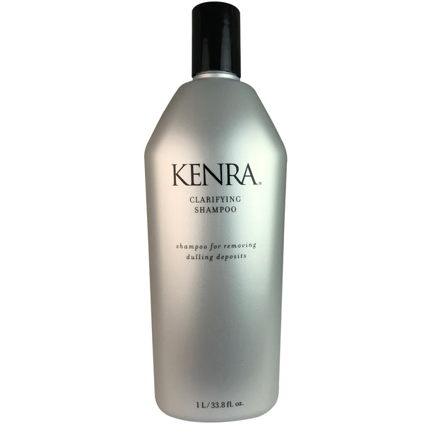 9814 A Kenra Clarifying Shampoo Liter 33.8 oz for Deep Cleanse