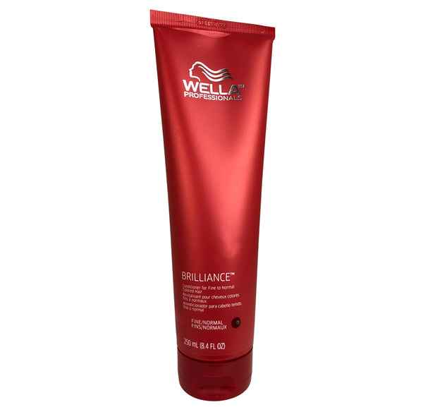 Wella Professional Brilliance Conditioner For Fine to Normal Colored Hair 8.4 oz