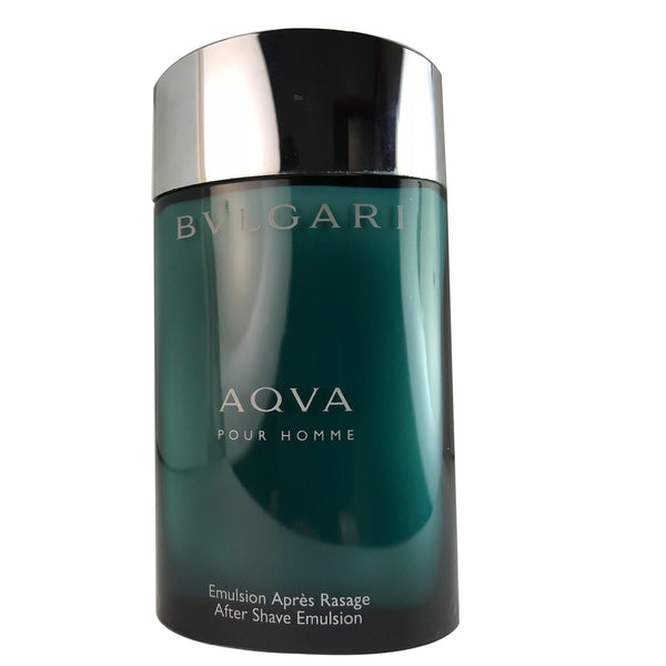 Bvlgari Aqva For Men by Bvlgari 3.4 oz After Shave Emulsion