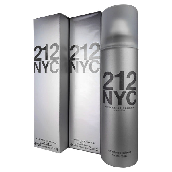 212 Deodorant Spray Women 5.1 oz-TWO