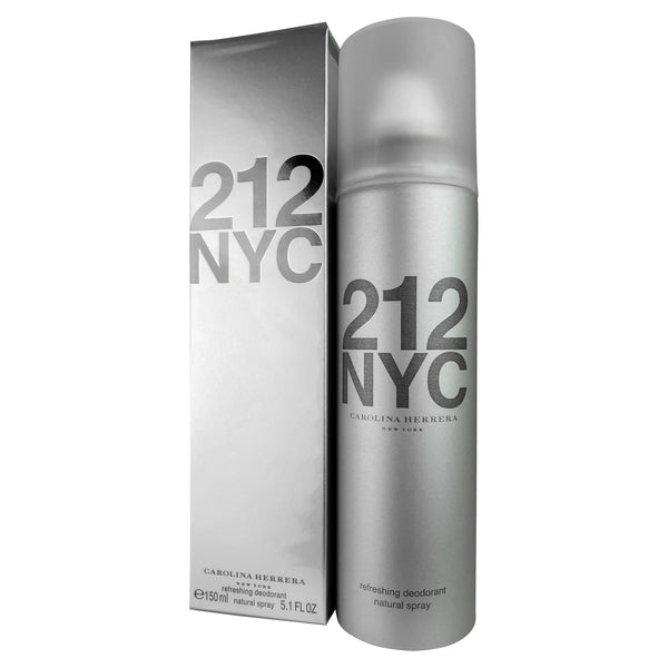 212 NYC Refreshing By Caroline Herrera Deodorant Natural Spray for Women 5.1 oz