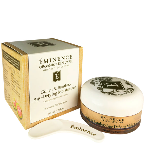 Eminence Guava & Bamboo Age Defying Face Moisturizer 2 oz For Normal To Dry Skin Types
