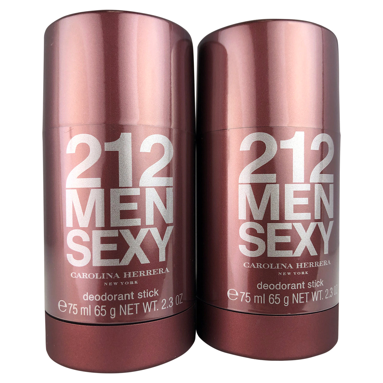 212 Men Sexy  By Caroloina Herrera Deodorant Stick 2.3 oz Each-TWO