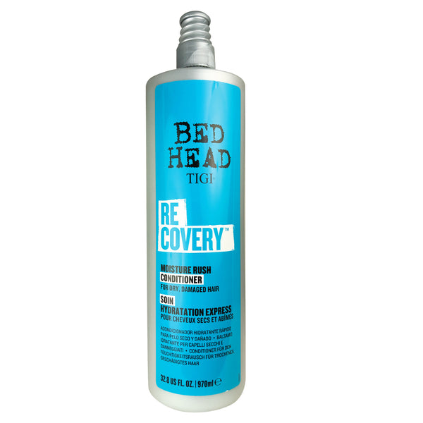TIGI Bed Head Recovery Moisture Rush Conditioner 32.8 oz For Dry Damaged Hair