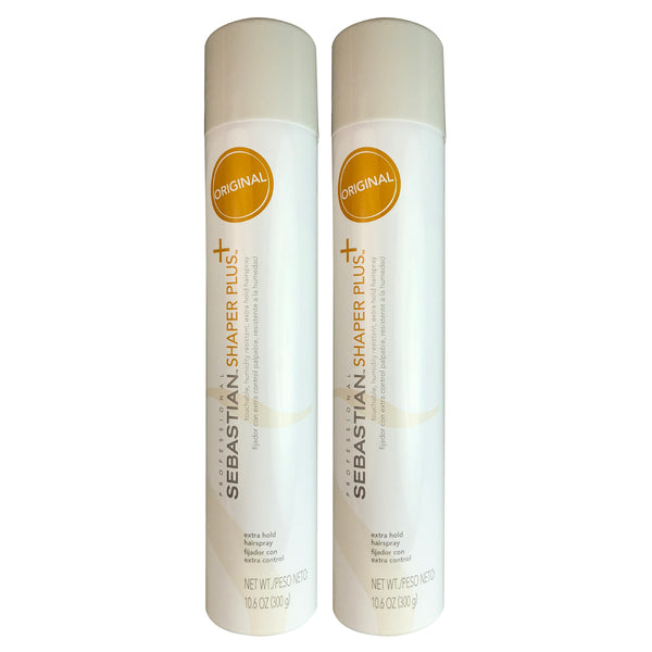Sebastian Shaper Plus Extra Hold HairSprayay 10.6 oz-TWO