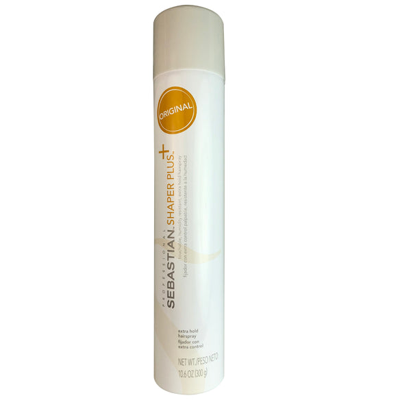 Sebastian Shaper Plus Extra Hold Hairspray 10.6 oz Touchable and Humidity Resistant