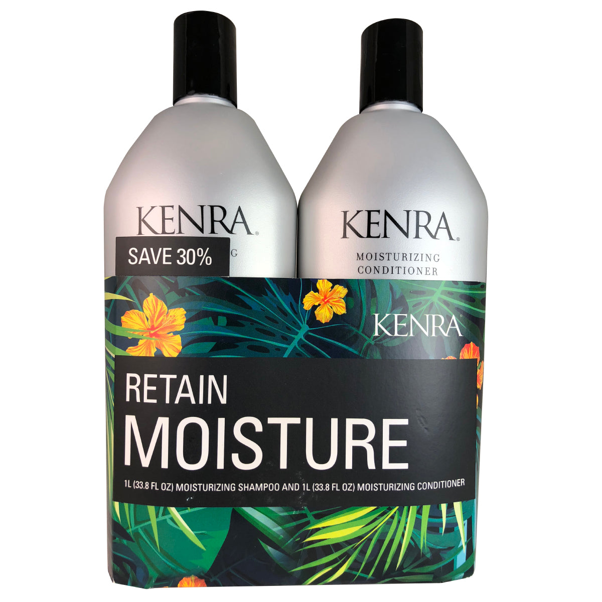 Kenra Moisturizing Hair Shampoo And Conditioner Duo 33.8 oz Each