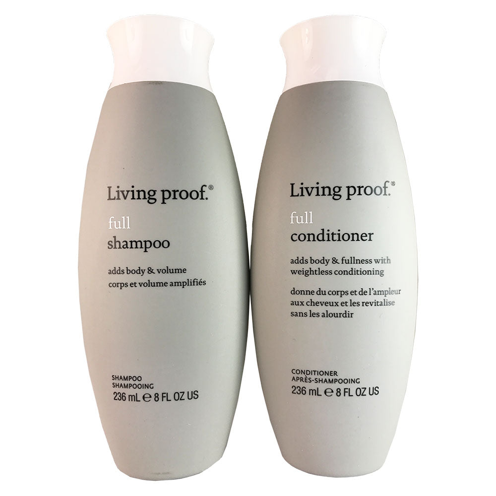 Living Proof Full Hair Shampoo and Conditioner Set  8 oz Each