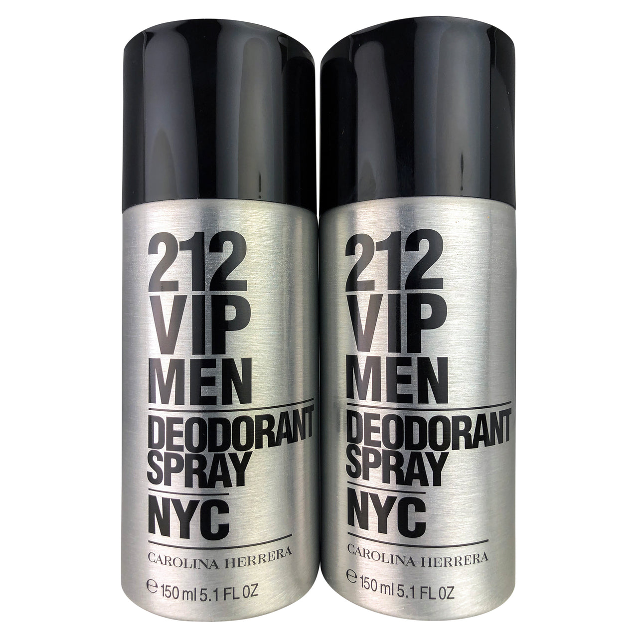 212 VIP Deodorant Spray Men 5.1  oz.-TWO