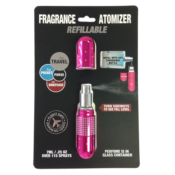 Ref. Atomizer Crystal Shiny Magenta .25 oz