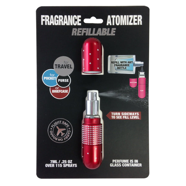 Ref. Atomizer Crystal Ruby Red .25 oz