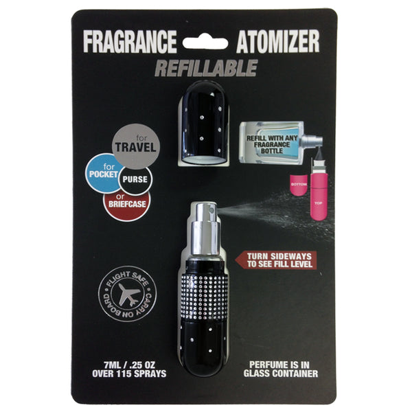 Ref. Atomizer Crystal Black Night .25 oz