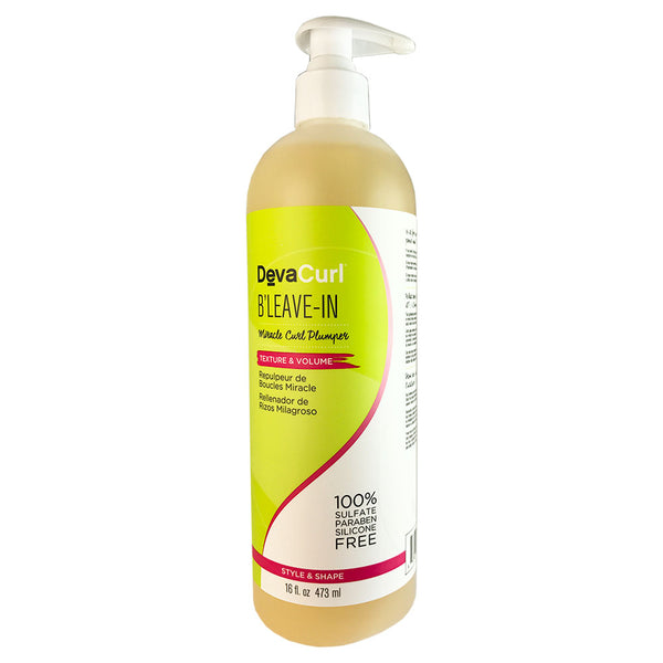 Devacurl B'leave-in Miracle Hair Curl Plunger 16 oz